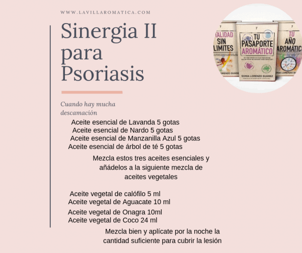 aceites esenciales para la psoriasis