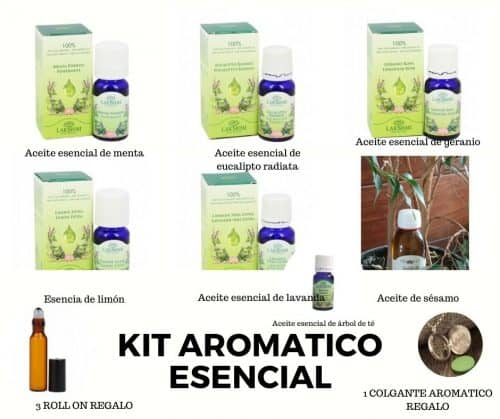Kit Aromático esencial