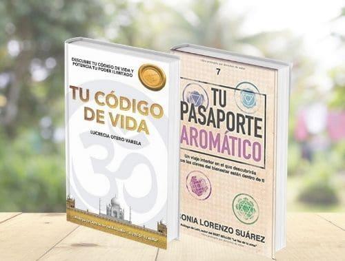 Pack Tu Pasaporte Aromático + Tu código de Vida. Pack Oferta